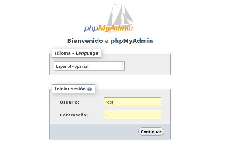 Configuración de phpMyAdmin en Ubuntu 20.04